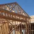 New Home Under Construction — Stock Photo