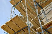 Construction Scaffolding — Stock Photo