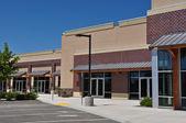 Parcheggio centro commerciale mall di striscia — Foto Stock
