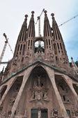 Barcelona Spain - Sagrada Familia — Stock Photo