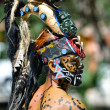 Ancient Mayan Warriors - ストック写真