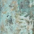 Blue Grunge Metal Texture Background — Stock Photo