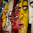 Indian Masks for Sale at Store — Stock Photo