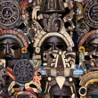 Mayan Wooden Masks for Sale — Stock Photo