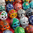 Stock Photo: Skulls for Sale at Chichen Itza