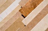 Tile Floor Samples — Stock Photo