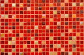 Red Mosaic Tile Background — Stock Photo