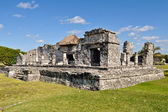 Maya ruïnes van tulum mexico — Stockfoto