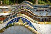 Park güell barcelona spanien — Stockfoto