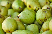 Green Pears at the Produce Market — Stock Photo