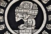 Forntida maya krigare — Stockfoto