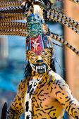 Ancient Mayan Warrior — Stock Photo