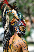 Ancient Mayan Warriors — Stock Photo