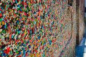 Bubble Gum Wall in Seattle Washington — Stock Photo