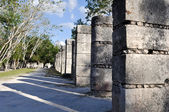 Chichen Itza Mayan Ruins 1000 Columns — Stock Photo