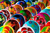 Colorful Mayan Bowls for Sale — Stock Photo