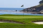 Golf Course on the Ocean — Stock Photo