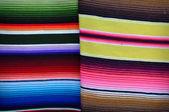 Coloridas mantas en méxico — Foto de Stock