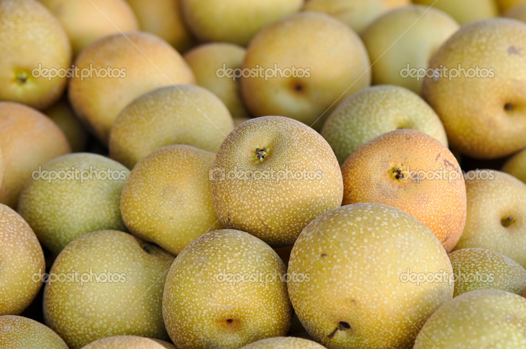 Asian Pears — Stock Photo #11117894