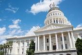 Sacramento State Capitol of California Building — Stock Photo