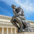 Rodin Thinker Statue - Stock Photo