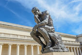 Rodin Thinker Statue — Stock Photo