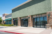 Shopping Center Strip Mall — Stock Photo