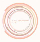 Rotating Circles Abstract Vector Background — Stock Vector