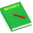 Royalty-Free Stock Photo: MONEY inscription on cover book