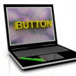 BUTTON message on laptop screen - Stock Photo