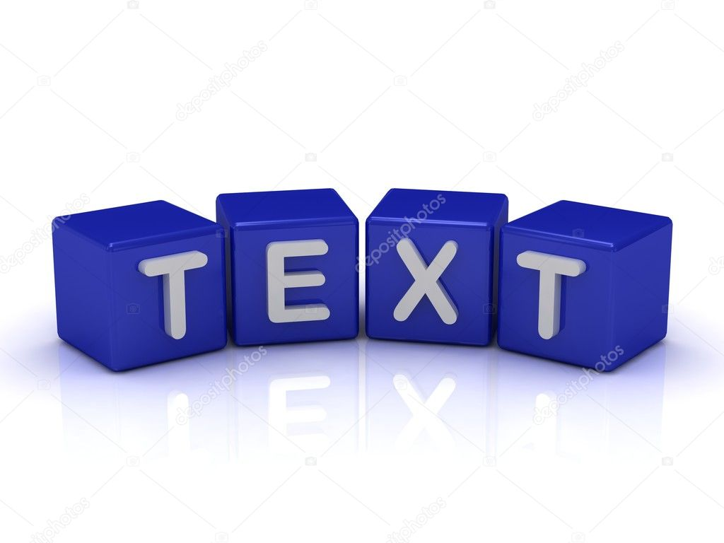 word text: