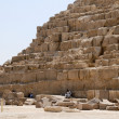 Pyramids of Egypt — Stock Photo