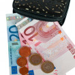 Stock Photo: Cash euros