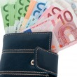 Cash euros — Stock Photo #11649162