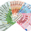 Cash euros — Stock Photo