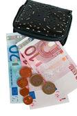 наличные евро — Стоковое фото
