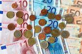 Cash euros — Stock Photo