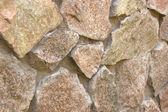 Fieldstone wall under the sun — Stock Photo
