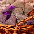 Lavender sachets — Stock Photo