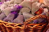Lavender sachets — Stock Photo