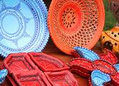 Colorful pottey — Stock Photo