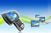 Zaawansowanych technologii — Zdjęcie stockowe