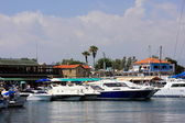 Sea harbor. Cyprus.Paphos town — Stock Photo