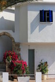 House in the Greek style — Stock Photo