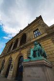 Monumenten in de kathedraal van kopenhagen — Stockfoto