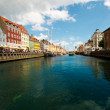 Beautiful canals of Copenhagen — Stock Photo #11849947