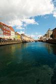 Beautiful canals of Copenhagen — Stock Photo