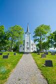 Norwegian church — Stock Photo