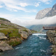 Landscape rivers of Norway — Stock Photo #11895312
