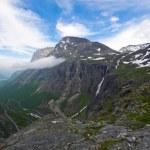 Malebná krajina Norsko. atlanterhavsvegen — Stock fotografie